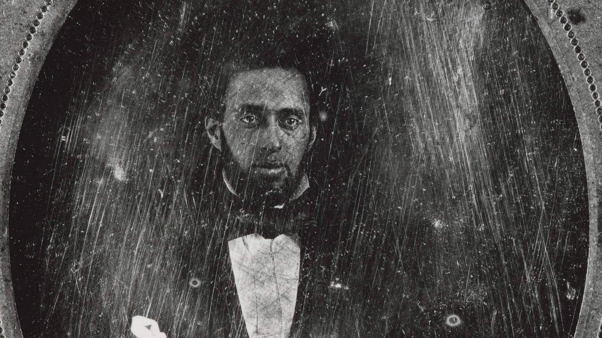 Photo of Ezekiel Gillespie, pictured in an daguerreotype likely created in the 1850s, helped African Americans secure the right to vote in Wisconsin.