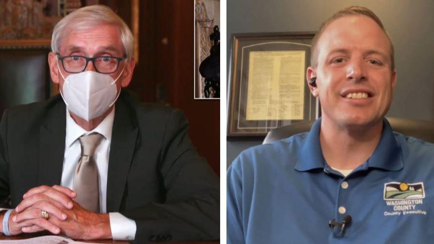 Evers Mandates Masks; Washington County Executive Opposes