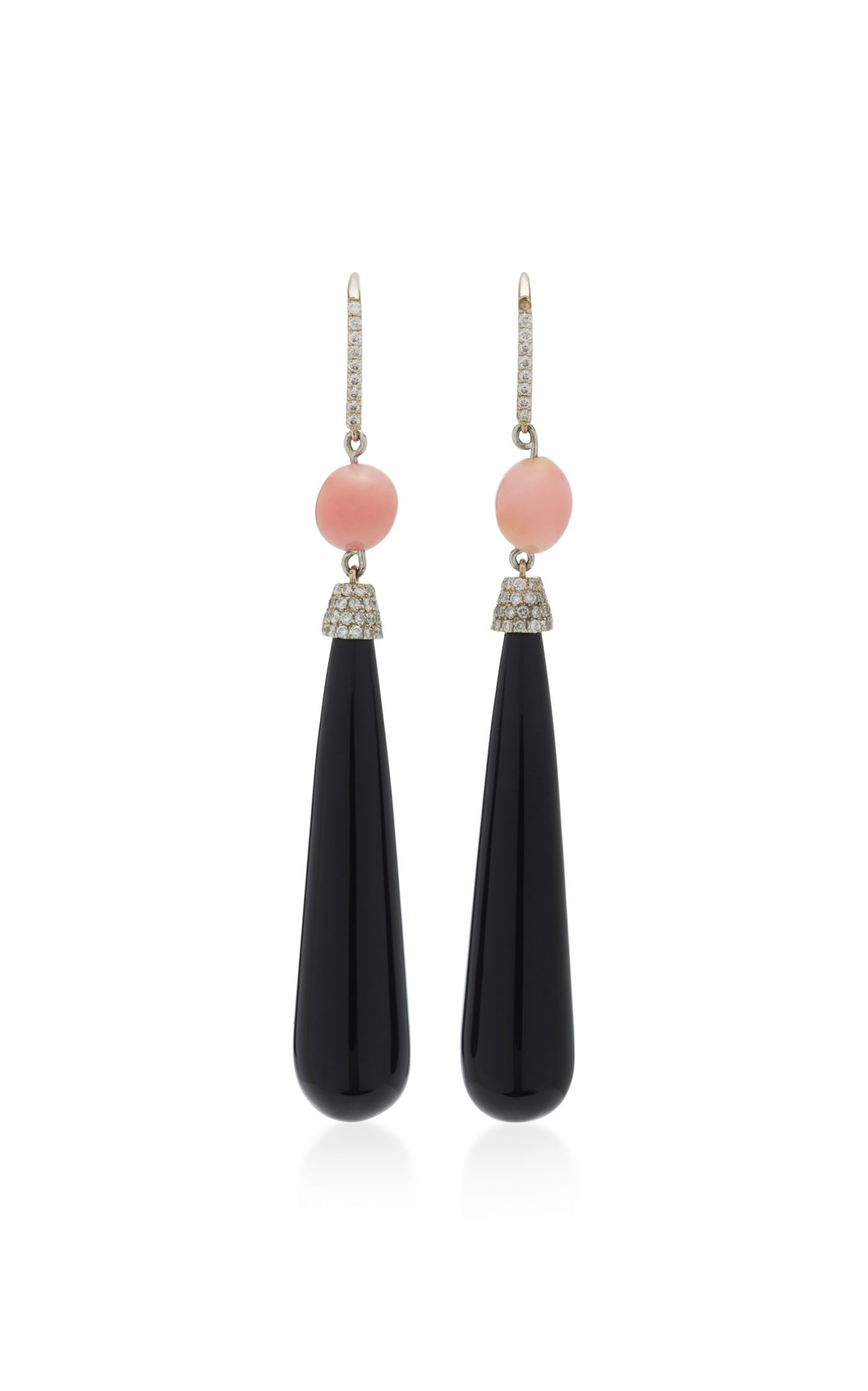 Susan Foster Conch Pearl Earrings