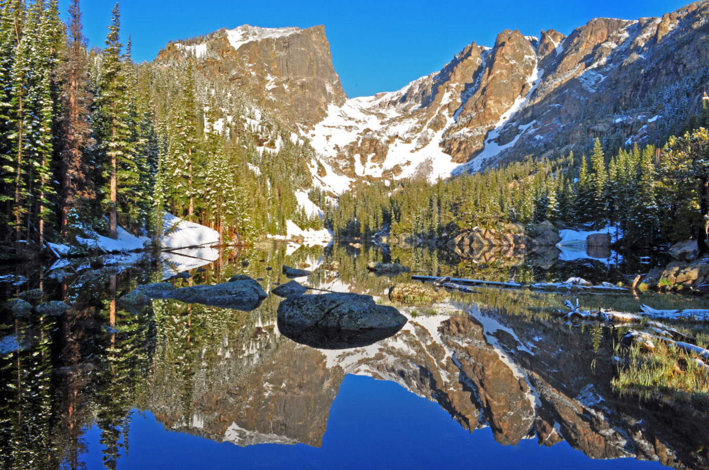 hike rocky mountains