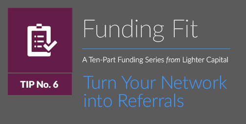 Funding Fit: Turn Your Network into Referrals