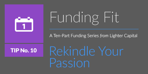 Funding Fit: Rekindle Your Passion