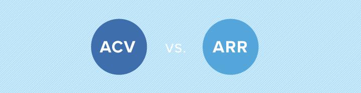 ACV vs ARR