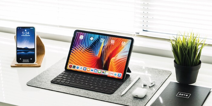 iPad for business use