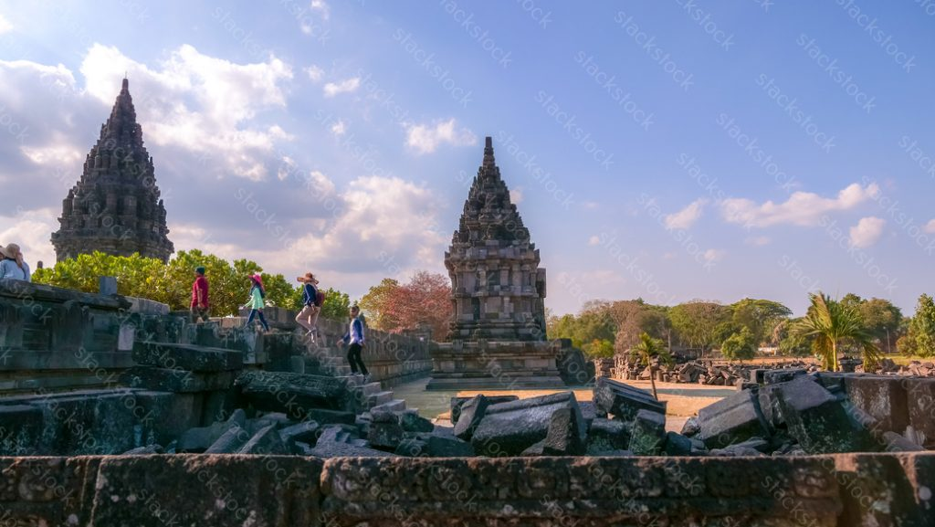 Prambanan temple compounds. Indonesia