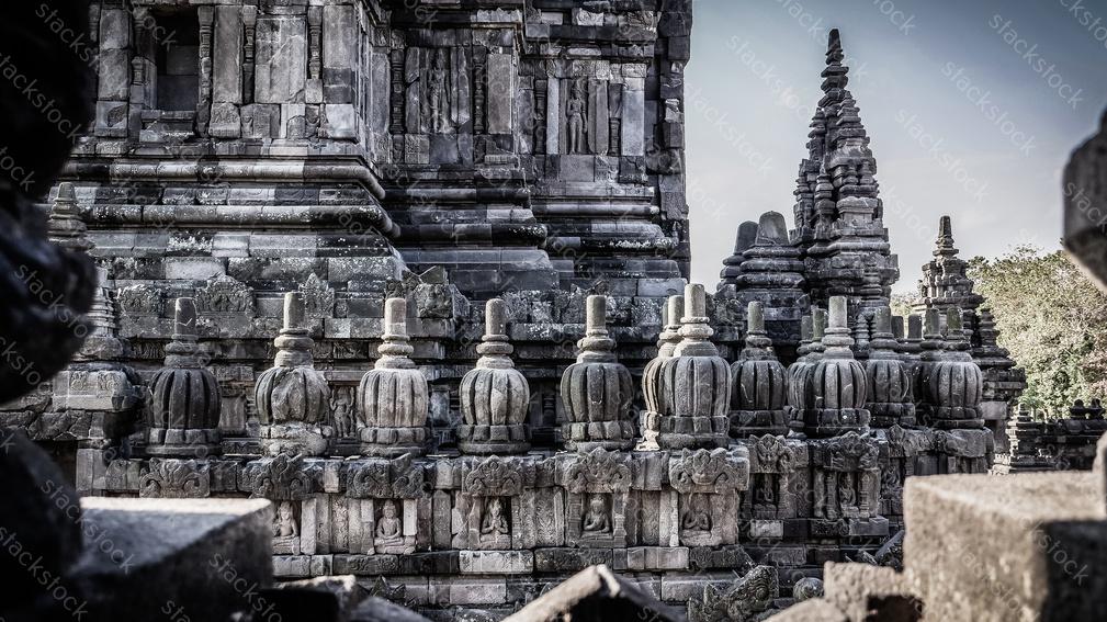 Prambanan Temple Complex. Indonesia