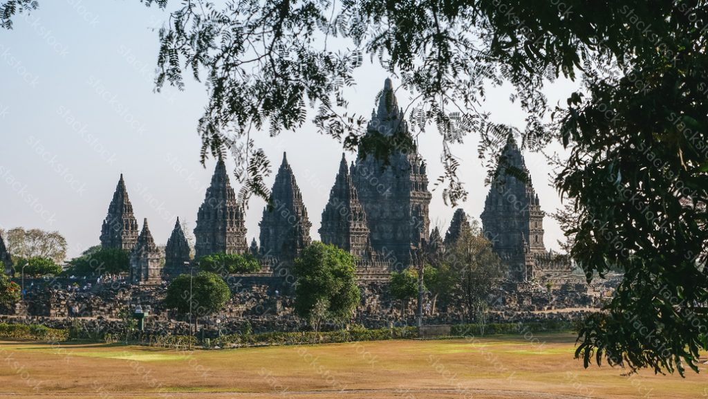 Prambanan Hindu temple. Central Java, Indonesia.