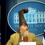 Vermin Supreme Vies for Libertarian Nomination
