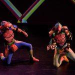 "Choy dance performance: ""Flight: torn like a rose"""