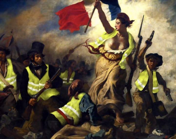Dispatches from Europe – The Yellow Vests Movement