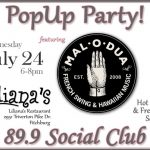 Wed July 24 Social Club at Liliana's