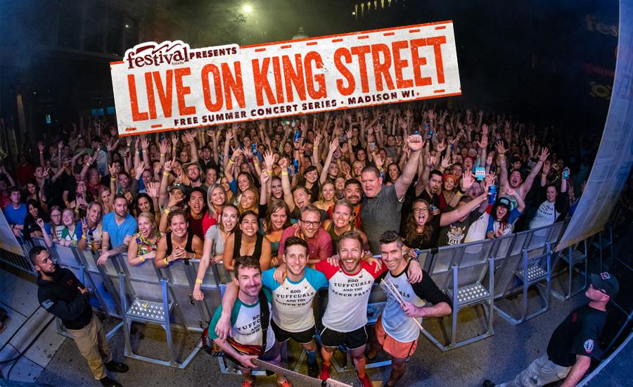 LIVE ON KING STREET #5 - WORT 89 9 FM