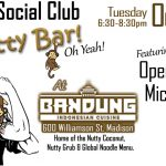 October 89.9 Social Club at Nutty Bar