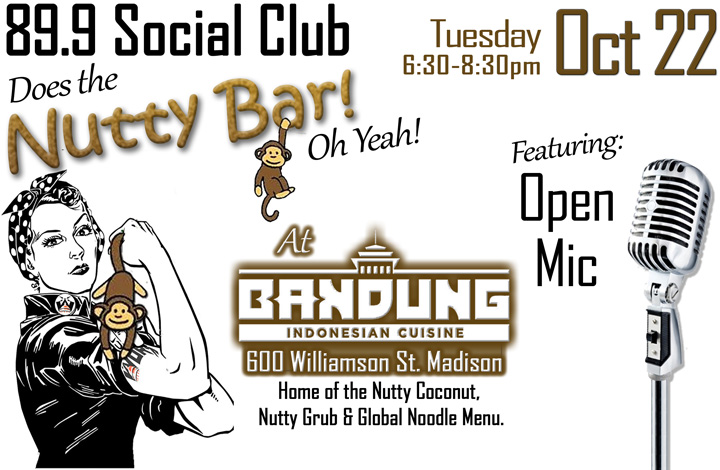 October 89.9 Social Club at Nutty Bar
