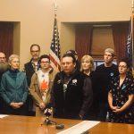 Organizers Speak Against Felony Trespass Bill