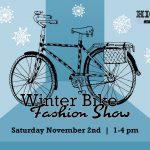 winter bike fashion show 2019 poster