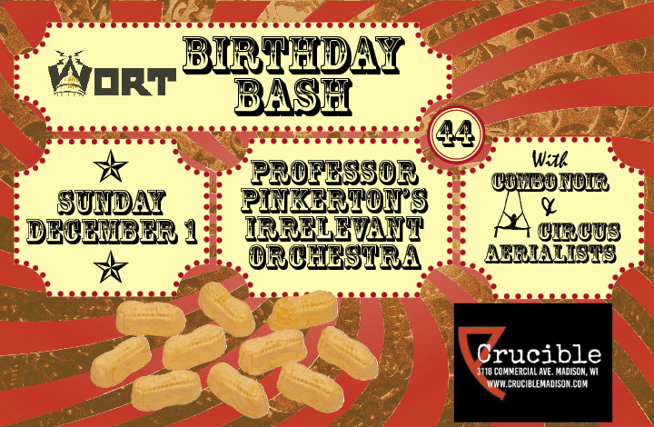 WORT Celebrates 44 Years With Our Birthday Bash