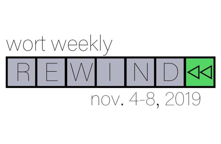 Weekly Rewind: November 8th, 2019