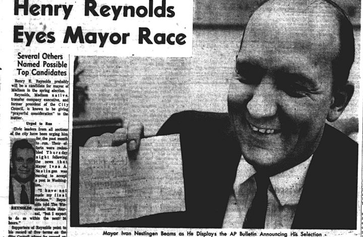 Madison - the mayoral campaigns of Henry Reynolds