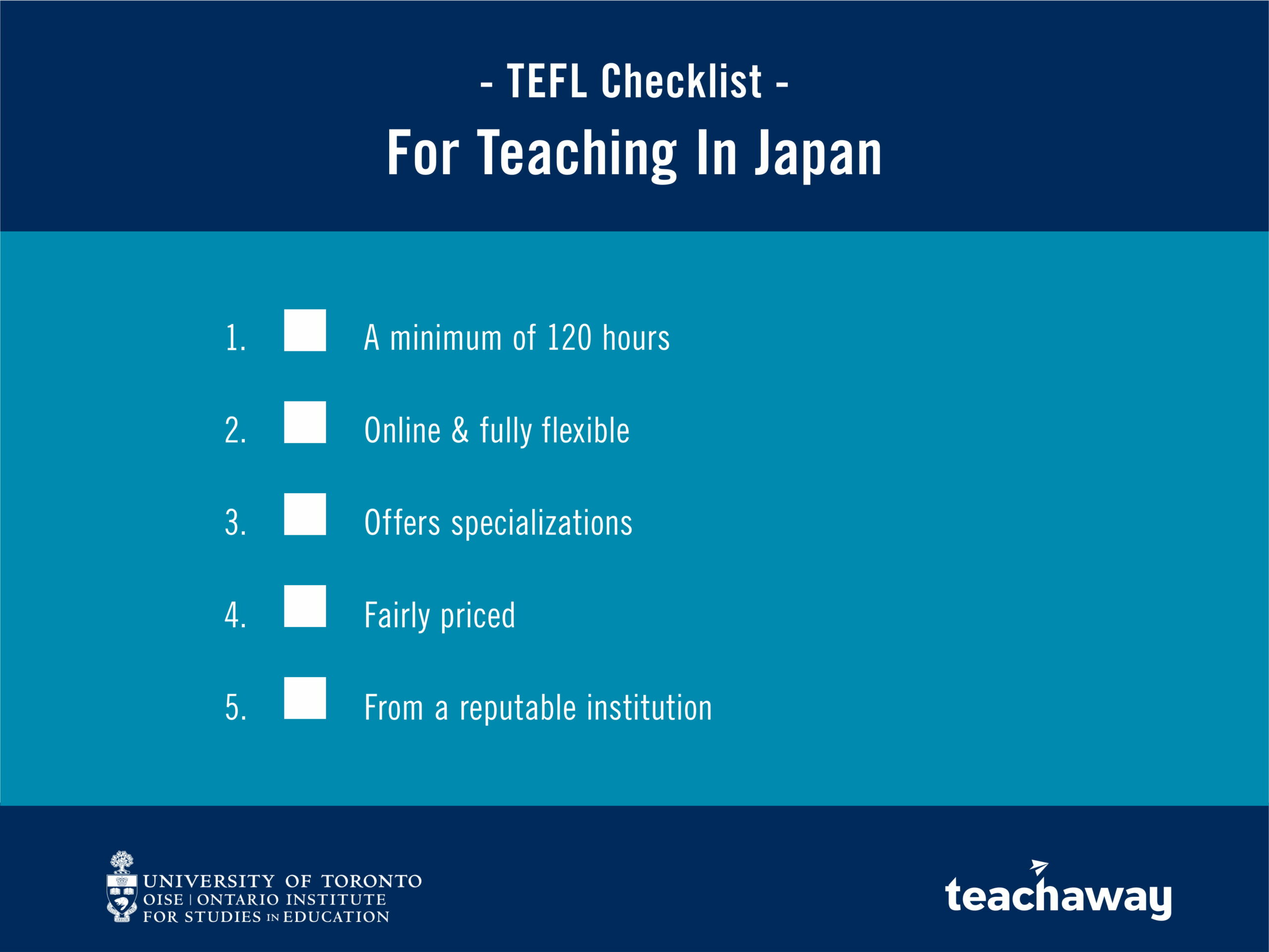 which tefl course is best japan