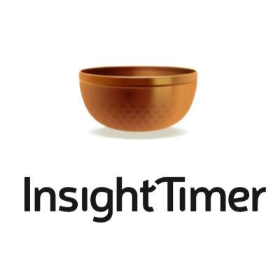 Insight timer logo.