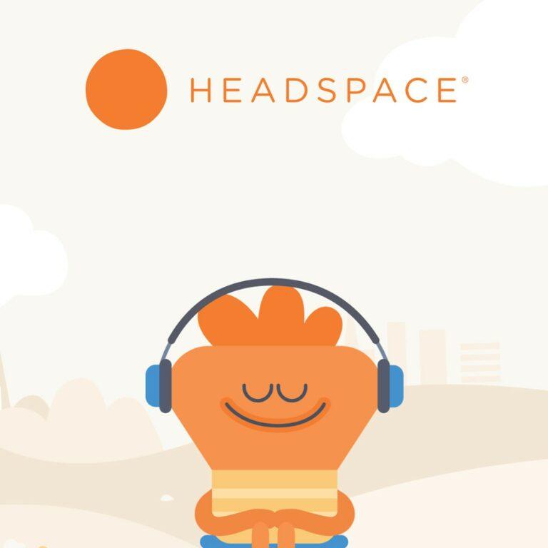 Headspace logo.