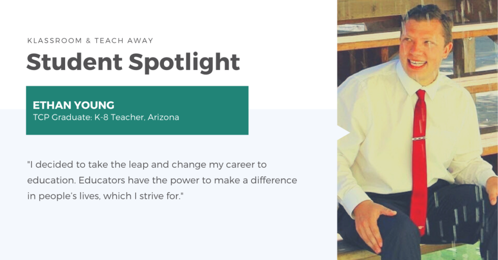 How to change your career path article profile photo of student Ethan Young