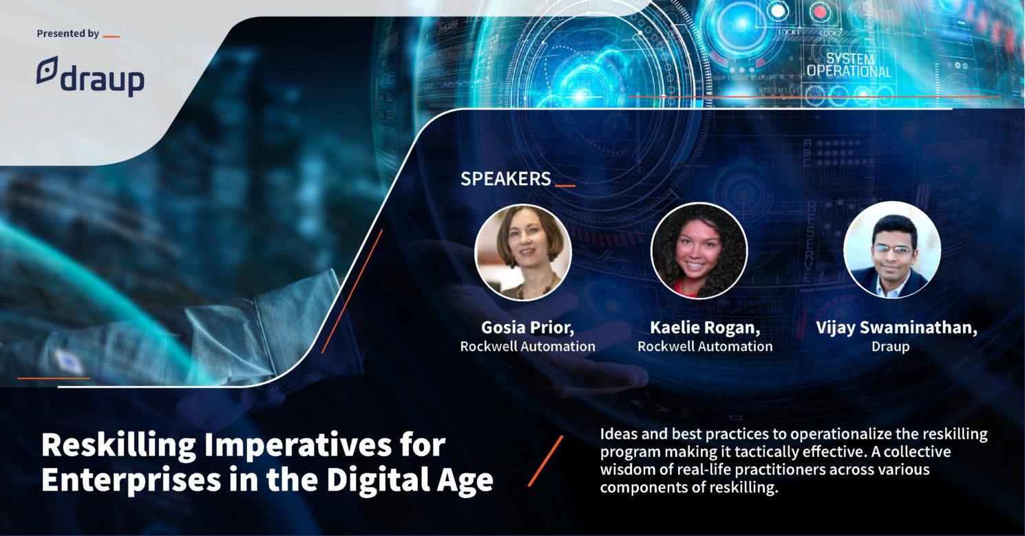 Reskilling Imperatives for Enterprises in the Digital Age