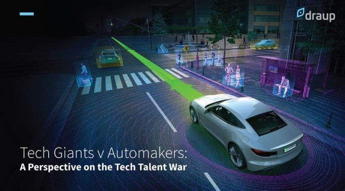Tech Giants v Automakers: A Perspective on the Tech Talent War