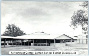 Refreshment Center: Latham Springs Baptist Encampment