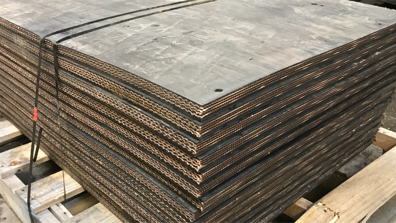MIPR Corp used belt cut any width & length