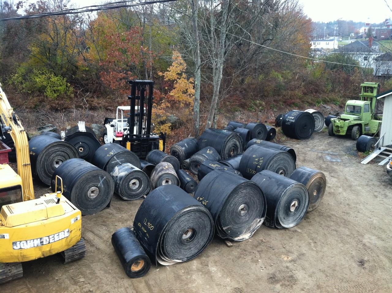 Used Conveyor Belt, Belts, Belting, Used Belt Recycling