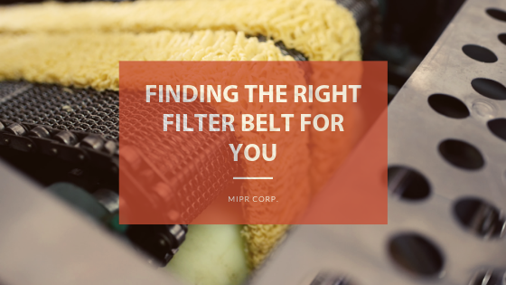 Filter Belt from MIPR Corp