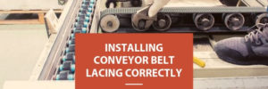 Conveyor Belt Lacing