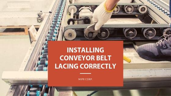 Conveyor Belt Lacing