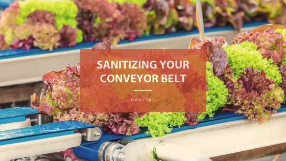 Keeping Conveyor Belts Clean & Sanitary