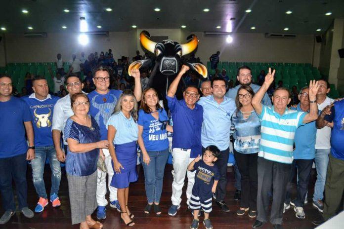 União de dirigentes da história marca posse da nova presidência do Boi Caprichoso