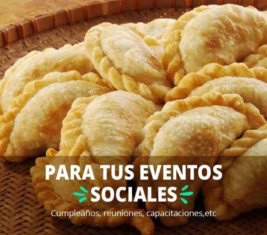 Bocaditos para eventos sociales delivery en Lima