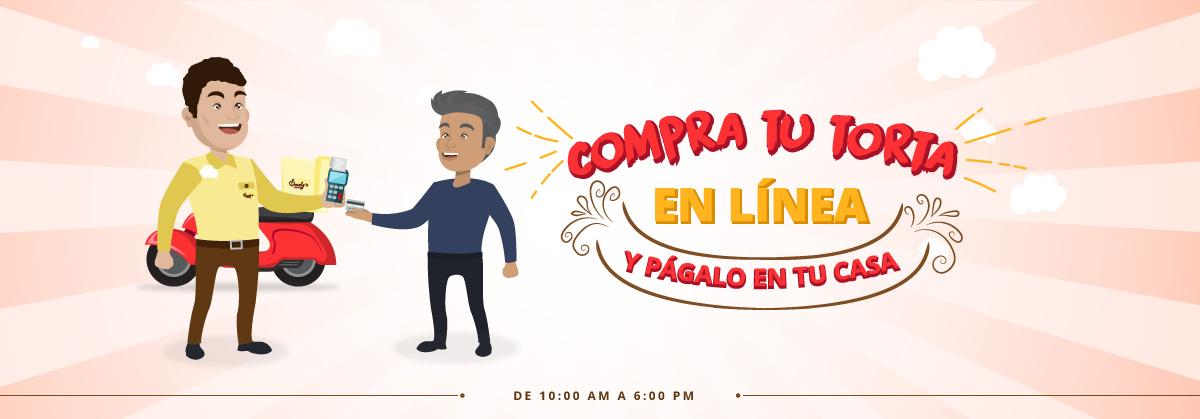 Pagos contraentrega de tortas en Lima Perú con Tortas Emely