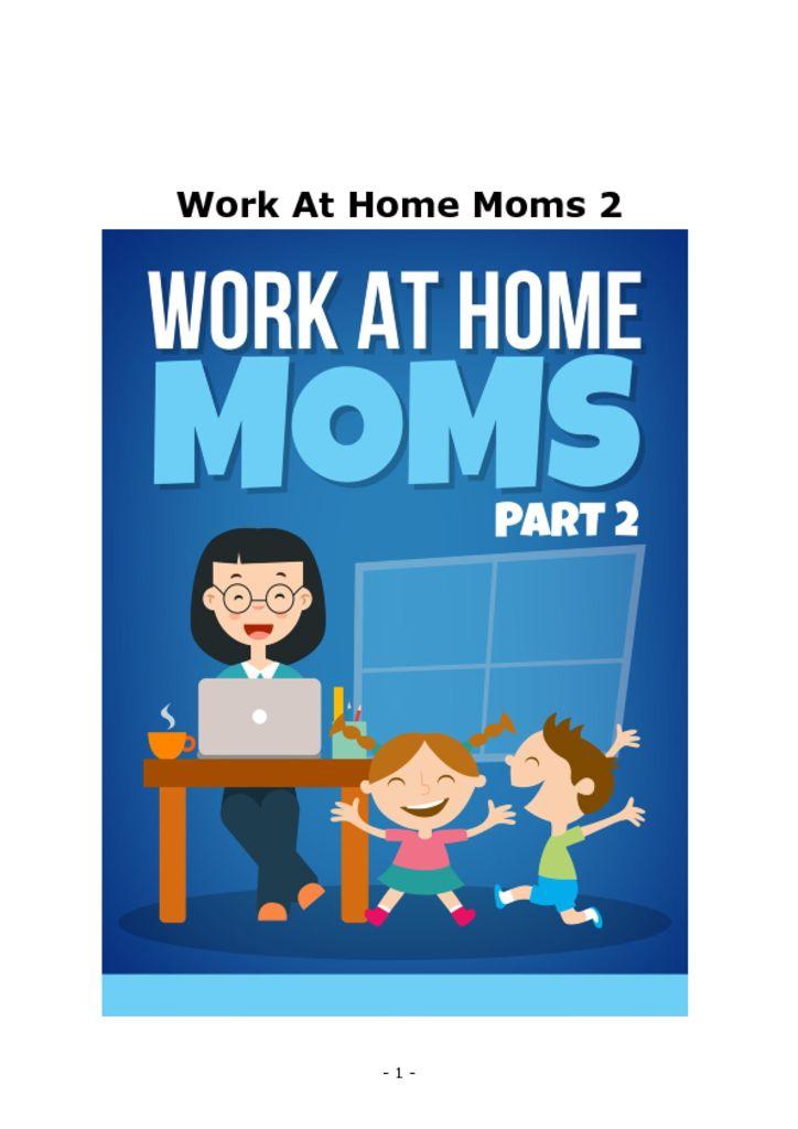 thumbnail of Work-At-Home-Moms-Part-2