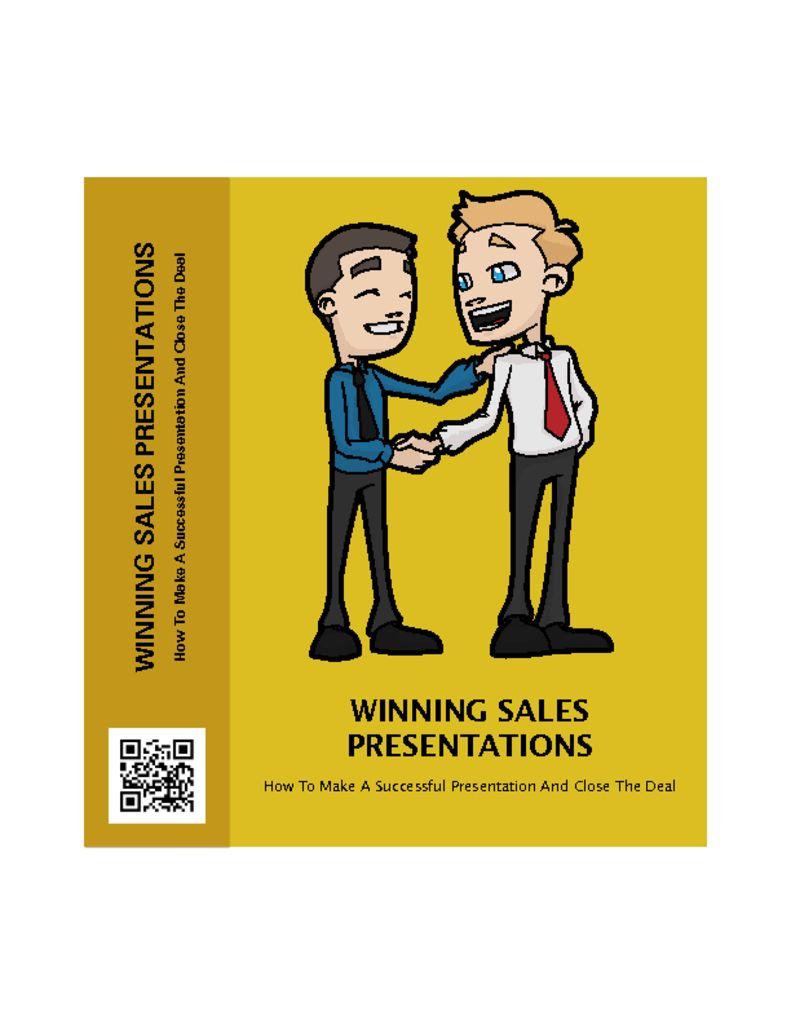 thumbnail of WinningSalesPresentations