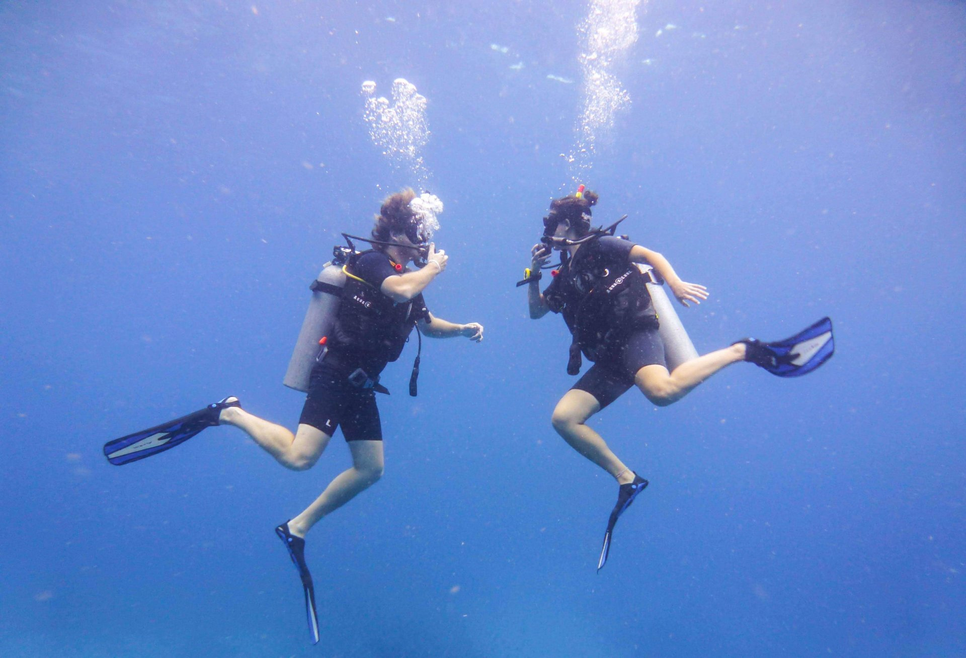 Double Occupancy Scuba Dive