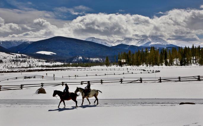 DevilsThumbRanch horses