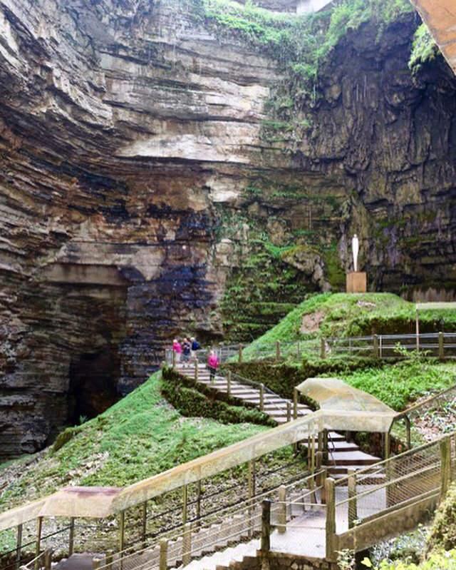 Gouffre de Padirac cave view