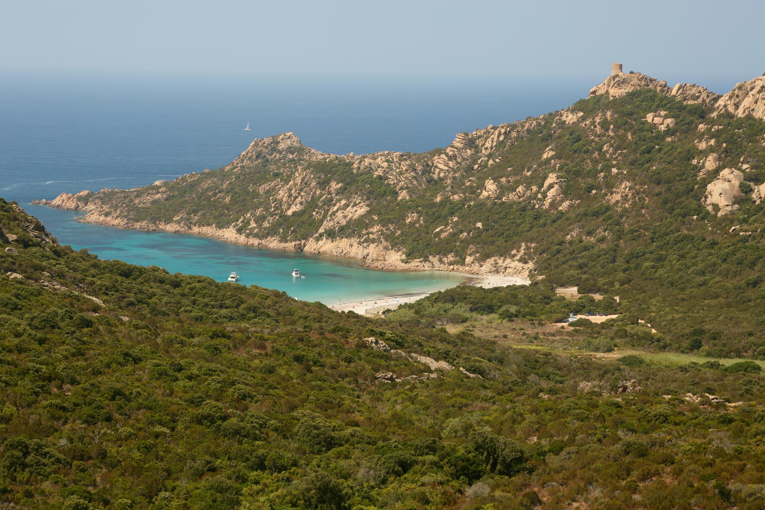 Domaine de Murtoli Roccapina cove