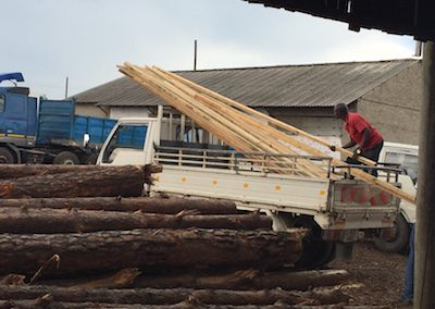 Loading Wood for Desks