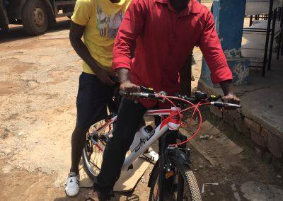 New Bike for Charles