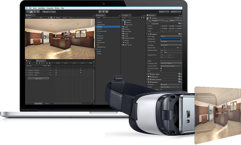 virtual reality development