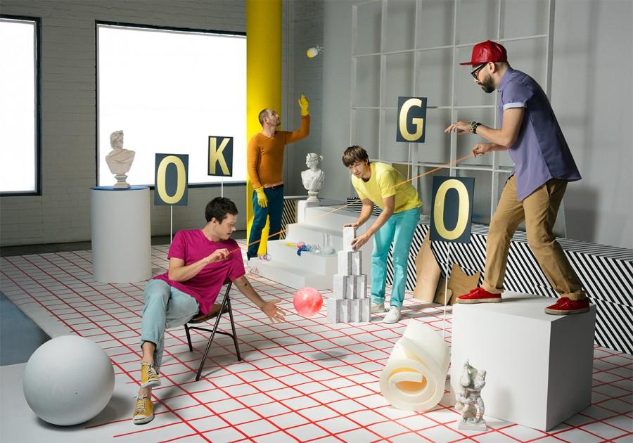 OK GO / UPSIDE OUT | Photographed by Zen Sekizawa